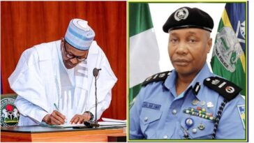 President Buhari Appoints Usman Alkali Baba As Acting Inspector General Of Police 6