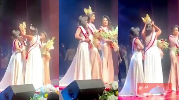 Beauty Queen Embarrassed On Stage As She Loses Her Crown Over Divorce Claim [Video] 1