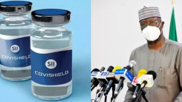 Nigerian Government Receives 100,000 Doses Of Covishield COVID-19 Vaccines From India 5