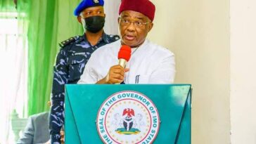 Governor Uzodinma Says Imo Attacks Were Sponsored By Aggrieved Politicians, Not IPOB 2