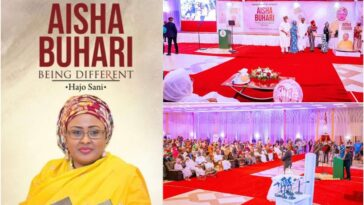 Dangote, Tinubu, Rabiu, Others Donates Over N216 Million At Aisha Buhari's Book Launch 3