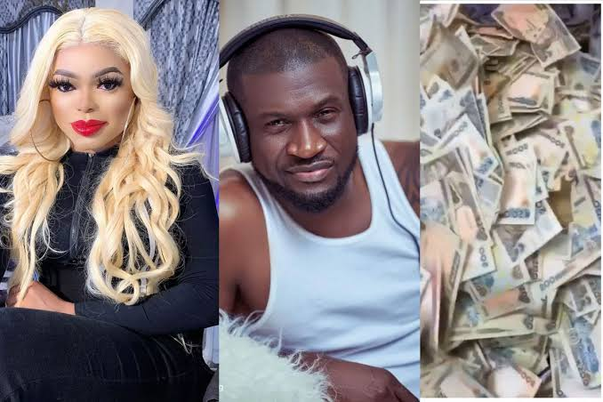 Peter Okoye Reacts As Bobrisky Shows Off His Bank Account Balance Of Almost N1 Billion 1