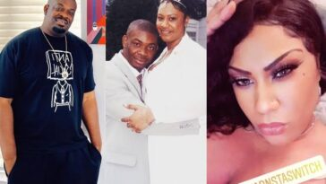 Don Jazzy's Ex-Wife, Michelle Reveals Why She Looks Taller Than Him In Their Wedding Photo 11