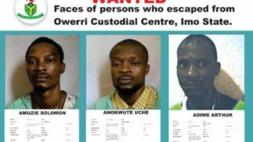 Imo Jailbreak: NSC Releases Names And Pictures Of Inmates Who Escaped Owerri Prison 14