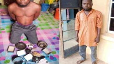 Ogun Islamic Cleric Arrested After He Was Caught Trying To Use A Teenager Girl For Rituals 9