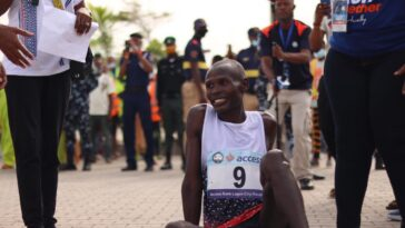 Kenya's Emmanuel Naibei Beats Over 300 Runners To Win 2021 Lagos City Marathon 5
