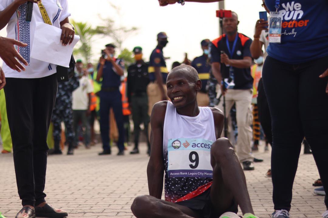 Kenya's Emmanuel Naibei Beats Over 300 Runners To Win 2021 Lagos City Marathon 2