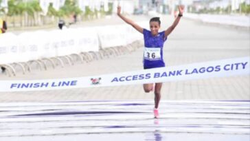 Ethiopia's Meseret Dinke Wins Female Category Of 2021 Lagos City Marathon [Video] 12
