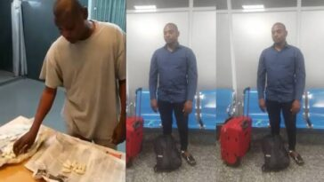 NDLEA Arrests Drug Trafficker Who Swallowed N423 Million Worth Of Cocaine 2
