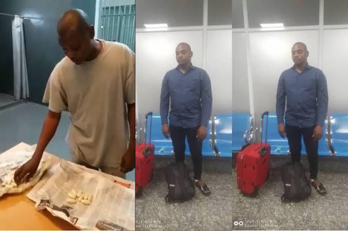 NDLEA Arrests Drug Trafficker Who Swallowed N423 Million Worth Of Cocaine 1