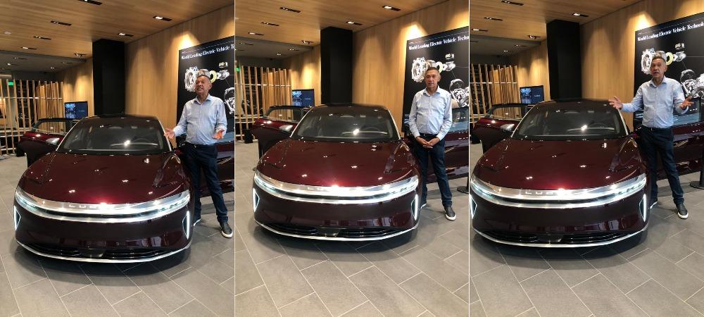 Senator Ben Bruce Order Lucid Electric Car, Asks FG To Ban Petrol Powered Car By 2035 1