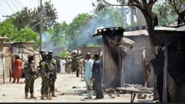 Boko Haram Terrorists Kill Five People, Abduct Many Women In Adamawa Community 11