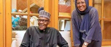 My Wife Had Sleepless Nights Trying To Improve The Lives Of Nigerians - President Buhari 24