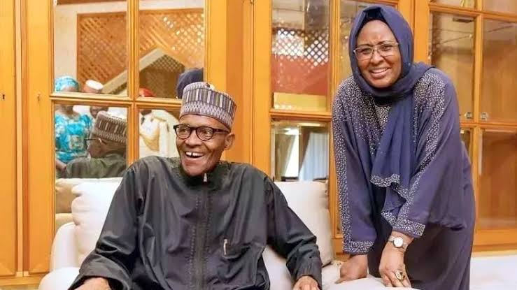My Wife Had Sleepless Nights Trying To Improve The Lives Of Nigerians - President Buhari 1