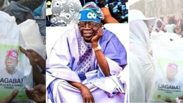 2023 Presidency: Tinubu Begins Distribution Of Branded Bags Of Rice To Kano Residents [Photos] 7