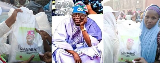 2023 Presidency: Tinubu Begins Distribution Of Branded Bags Of Rice To Kano Residents [Photos] 11