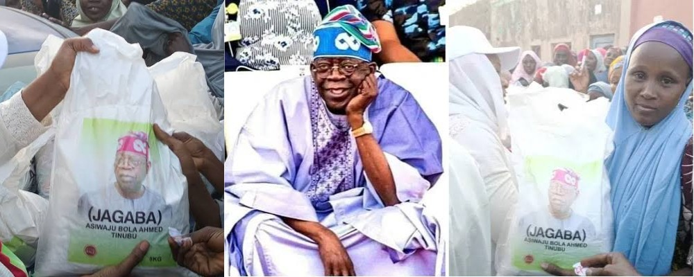 2023 Presidency: Tinubu Begins Distribution Of Branded Bags Of Rice To Kano Residents [Photos] 1