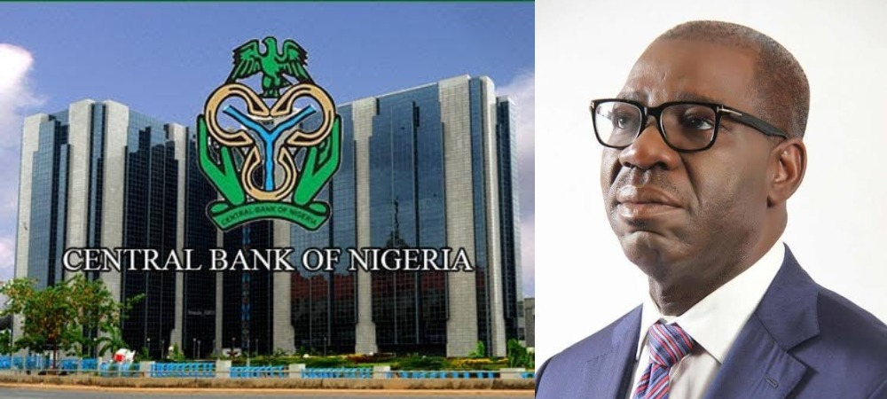 CBN Finally Reacts To Governor Obaseki's Claim That FG Printed N60bn To Share In March 1