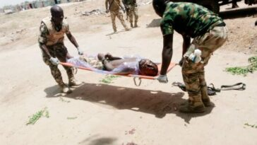 Depressed Nigerian Soldier Commits Suicide By Shooting Himself In The Head In Borno 7