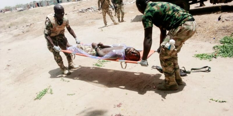 Depressed Nigerian Soldier Commits Suicide By Shooting Himself In The Head In Borno 1