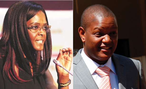 Son Of Ex-Zimbabwean First Lady, Grace Mugabe Arrested And Dragged To Court For Theft 1