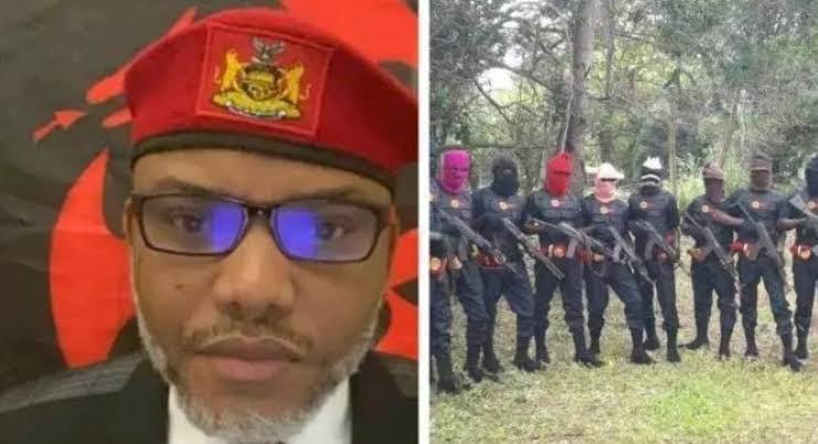 IPOB Condemns 'Ebube Agu' Security Outfit, Vows To Kill Anyone Who Spies On ESN 1