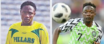 Super Eagles Captain, Ahmed Musa Rejoins Kano Pillars After 11 Years He Left The Club 34