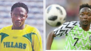 Super Eagles Captain, Ahmed Musa Rejoins Kano Pillars After 11 Years He Left The Club 23