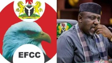 EFCC Arrests Imo Ex-Governor, Rochas Okorocha For Questioning 14
