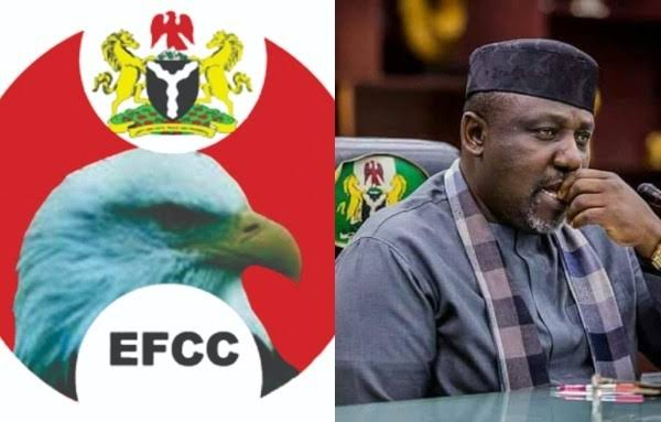 EFCC Arrests Imo Ex-Governor, Rochas Okorocha For Questioning 1