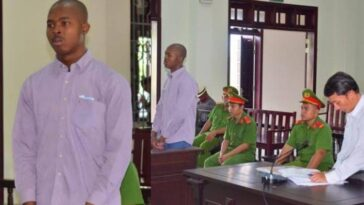 25-Year-Old Nigerian Man Sentenced To Death For Drug Trafficking In Vietnam [Photos] 1