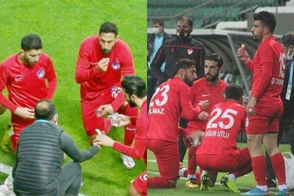 Muslim Players Break Their Ramadan Fast During A Football Match In Turkey [Video] 1
