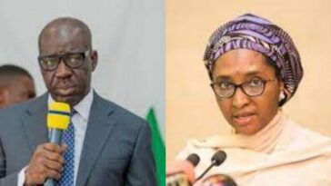 Governor Obaseki Lied, FG Didn't Print N60bn To Support March Allocation - Finance Minister 3