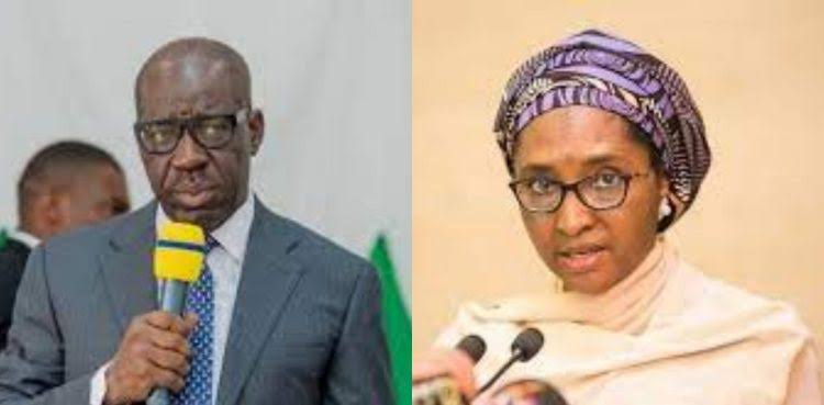 Governor Obaseki Lied, FG Didn't Print N60bn To Support March Allocation - Finance Minister 1