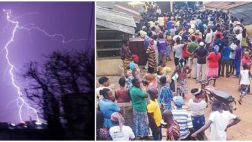 Lightning Strike Kills 8-Year-Old Secondary School Boy During Football March In Bayelsa 2