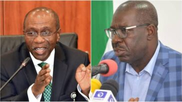 CBN Governor Emefiele Finally Admits Obaseki's Claim That Nigeria Has Been Printing Money 8