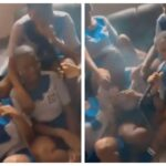 Shocking Video Of Female Secondary School Students Caught On Camera Smoking 'Shisha' 28