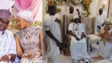 """Your Queens Will Multiply"" - Prophetess Olori Naomi Prays For Her Husband, Ooni Of Ife [Video] 7"