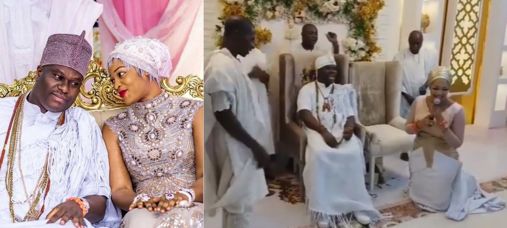 """""""Your Queens Will Multiply"""" - Prophetess Olori Naomi Prays For Her Husband, Ooni Of Ife [Video] 1"""