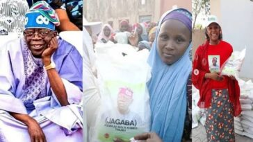 I Am Not Responsible For Distributing Bags Of Rice In The North — Bola Tinubu 2