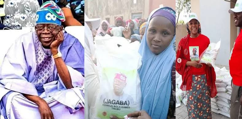 I Am Not Responsible For Distributing Bags Of Rice In The North — Bola Tinubu 1