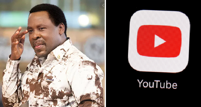 YouTube Blocks Prophet TB Joshua For 'Casting Out Homosexuality' From Church Members 1