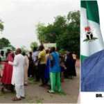 Protesting Workers Blocks Nasarawa Deputy Governor's Convoy Over Unpaid Salaries 12