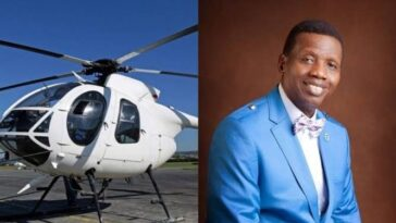 Nigerian Government Suspends Pastor Adeboye's Helicopter From Flying, Gives Reason 13