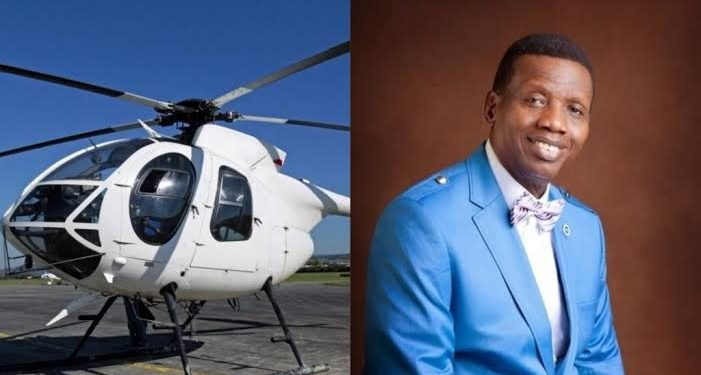 Nigerian Government Suspends Pastor Adeboye's Helicopter From Flying, Gives Reason 1