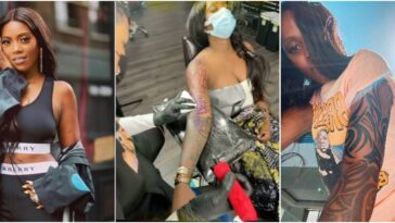 Tiwa Savage Gets Full Sleeve Tattoo On Her Arm, Says She's Number One African Bad Girl [Video] 8