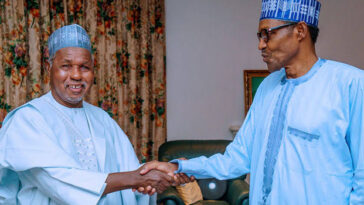 Buhari Hasn't Failed Nigerians, He's Even Tolerating Rubbish From Some People – Gov Masari 2