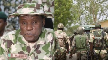 """Don't Be Afraid Of Bullets, It Will Never Kill You"" - Defence Minister Tells Nigerian Soldiers 12"
