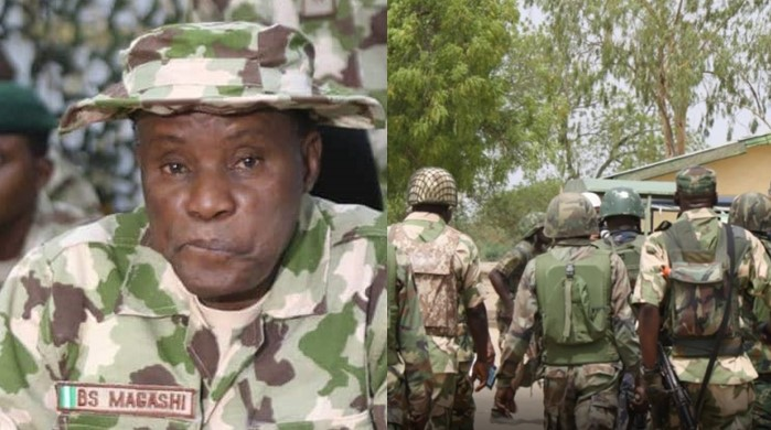 """Don't Be Afraid Of Bullets, It Will Never Kill You"" - Defence Minister Tells Nigerian Soldiers 1"