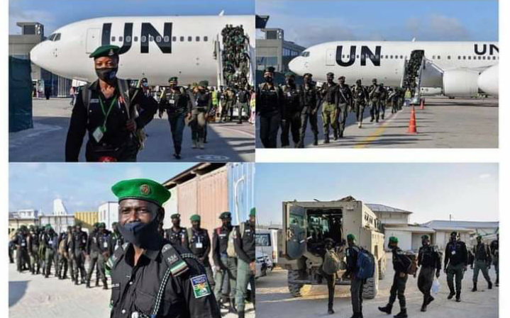 144 Nigerian Police Officers Arrives In Somalia To Help Them Fight Insecurity [Photos] 2